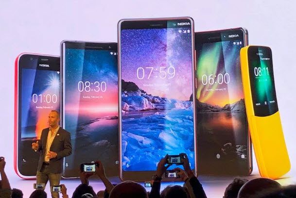 Nokia планирует попасть в пятерку самых успешных поставщиков смартфонов через 3-5 лет