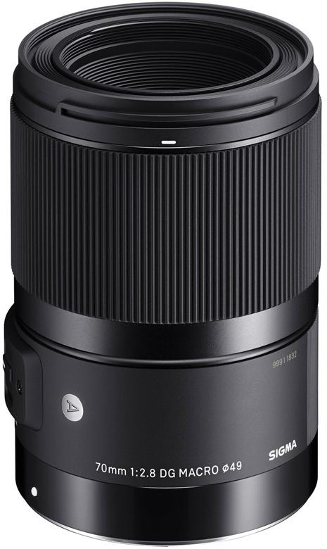 Кольцо фокусировки Sigma 70mm f/2.8 DG Macro   Art не имеет прямой связи с оптическими элементами