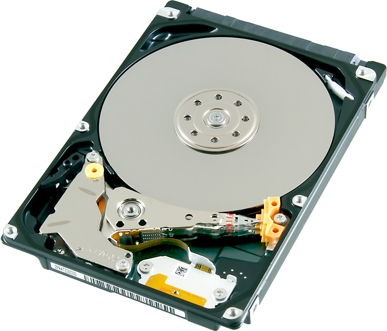 Накопитель оснащен интерфейсом SATA 6 Гбит/с