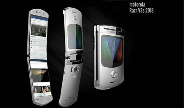 Новый смартфон Motorola Razr может получить сгибающийся дисплей