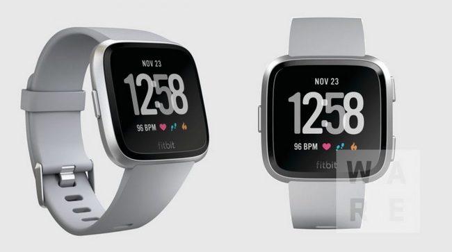 Появились первые изображения новых доступных умных часов Fitbit