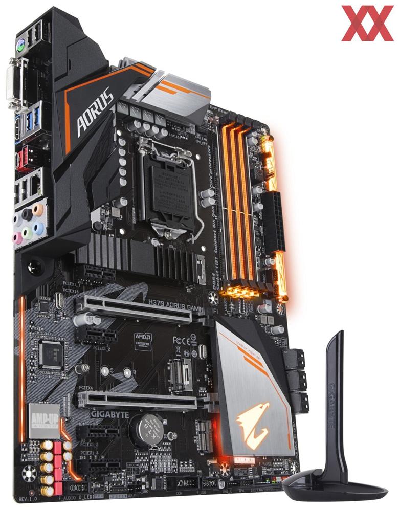Основой платы служит чипсет Intel H370