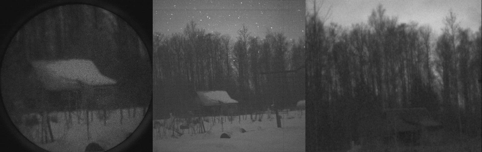 Как видят ночью разные камеры и приборы? - 5