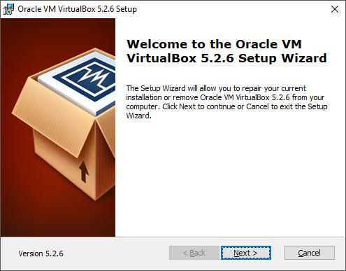Установка VirtualBox. Шаг 1