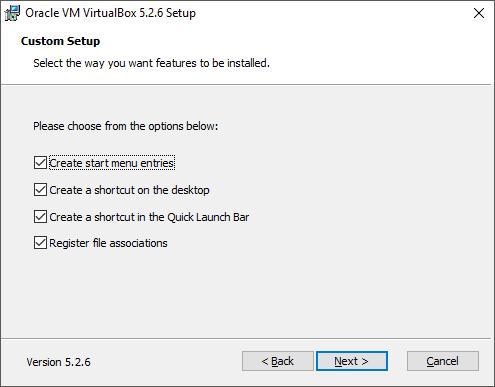 Установка VirtualBox. Шаг 3