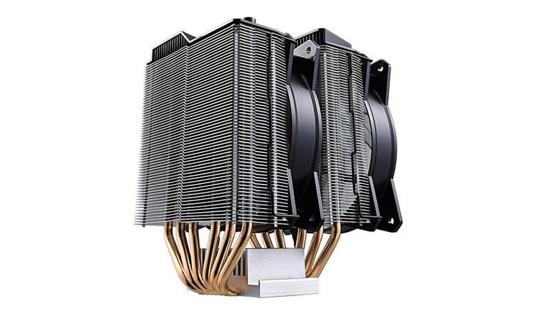 Кулер Cooler Master MasterAir MA620P стоит 80 долларов