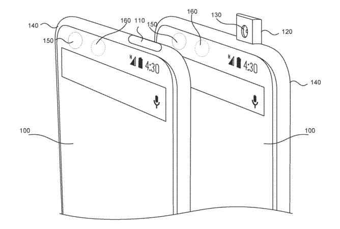 Патент на выдвижную камеру смартфона Vivo Apex принадлежит компании Essential Products