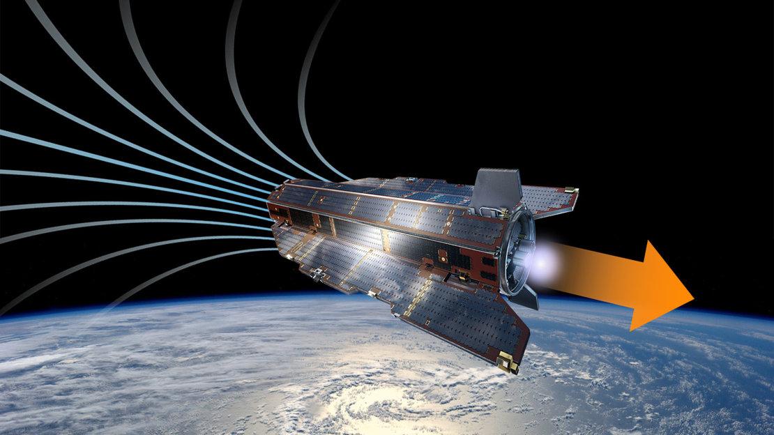 ESA провело испытания ионного двигателя, работающего на воздухе - 1