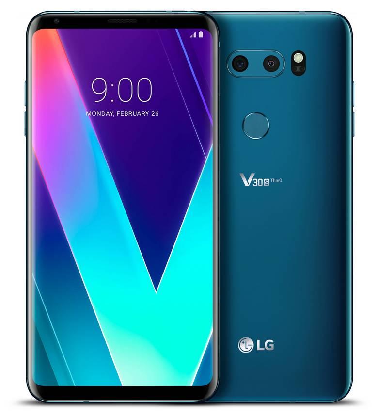 Цены смартфонов LG V30s ThinQ и V30s+ ThinQ стали известны накануне старта продаж