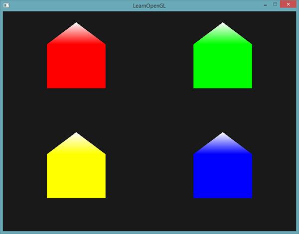 Learn OpenGL. Урок 4.9 — Геометрический шейдер - 10