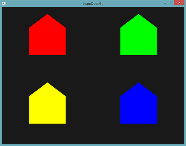 Learn OpenGL. Урок 4.9 — Геометрический шейдер - 9