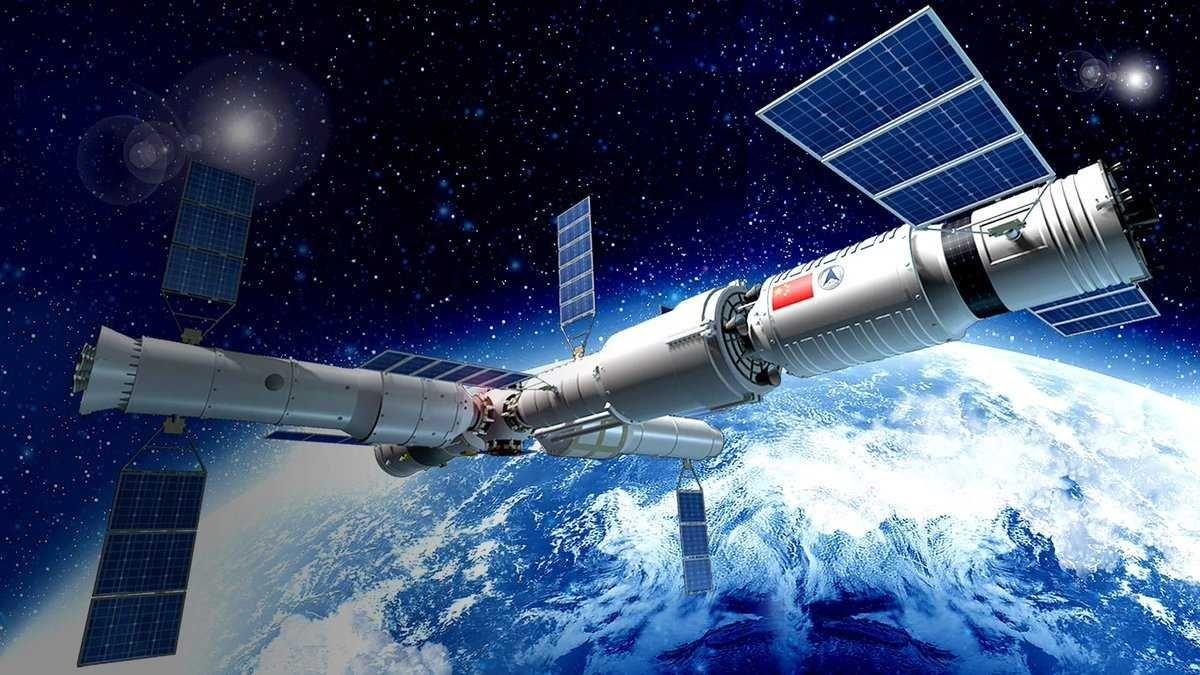 Китайская космическая станция «Тяньгун-1» упадет на Землю в следующем месяце - 1