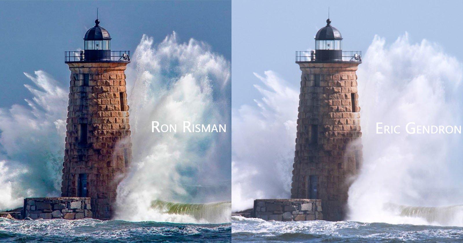 Как два фотографа случайно запечатлели одну и ту же миллисекунду - 1