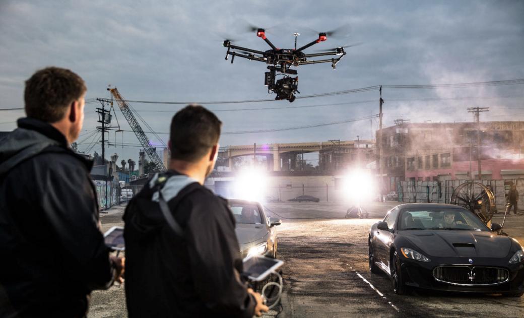 Какие дроны используют в мировом кинематографе - 1