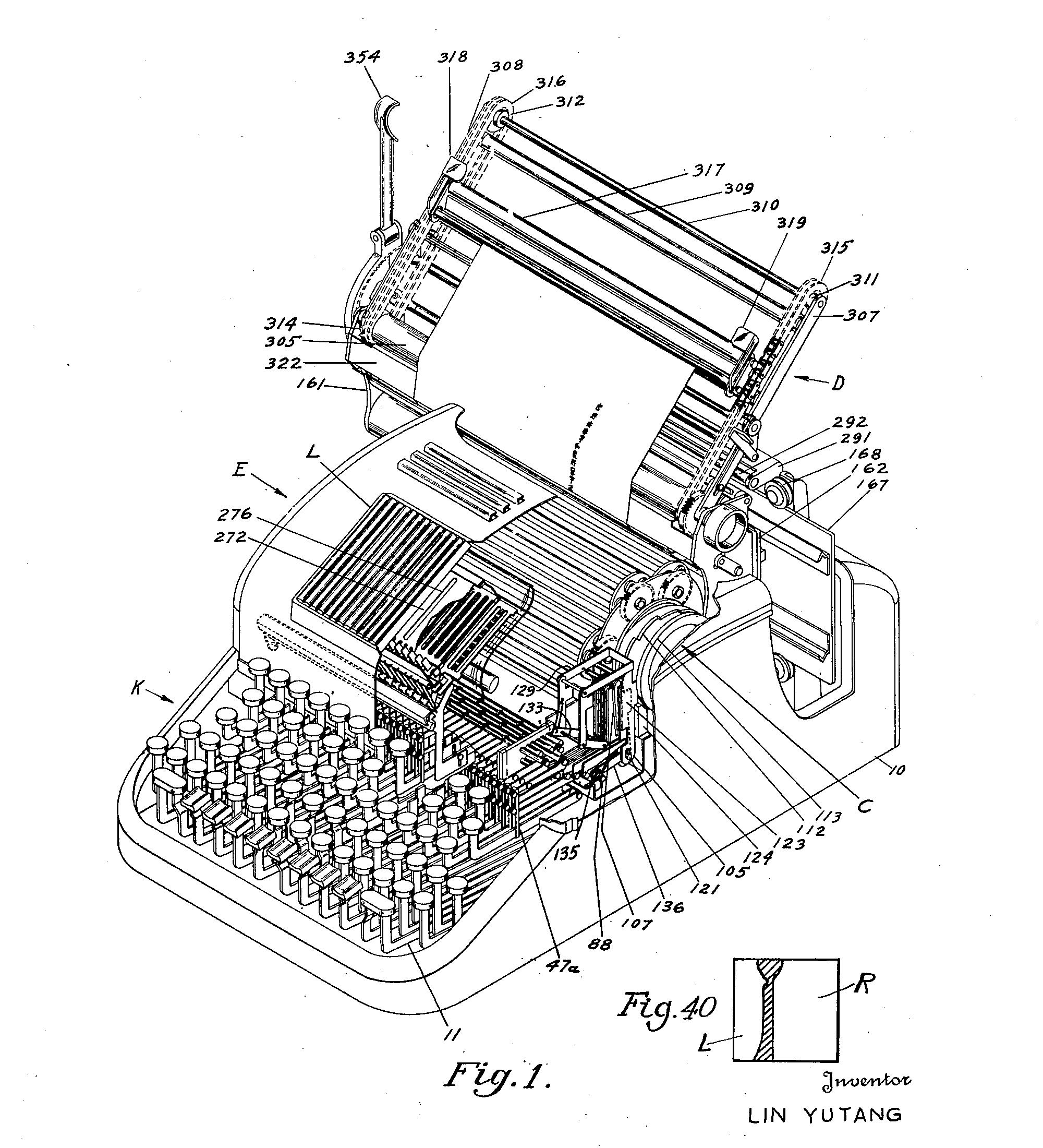 Китайская пишущая машинка — анекдот, инженерный шедевр, символ - 23