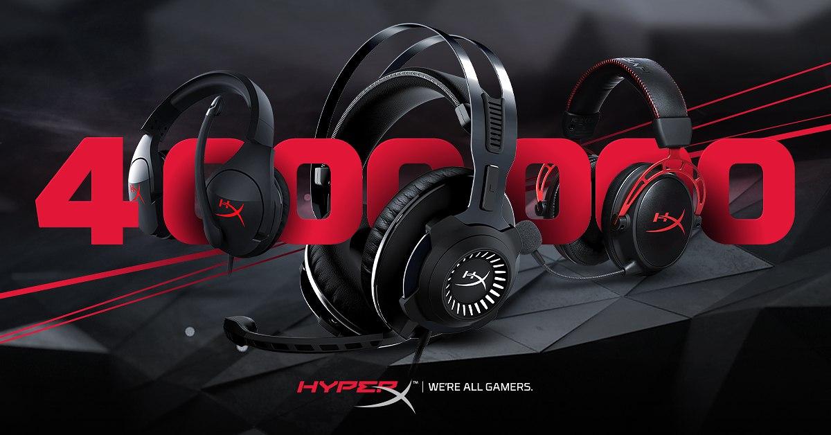 Продано! 4 миллиона гарнитур HyperX нашли своих счастливых обладателей - 1