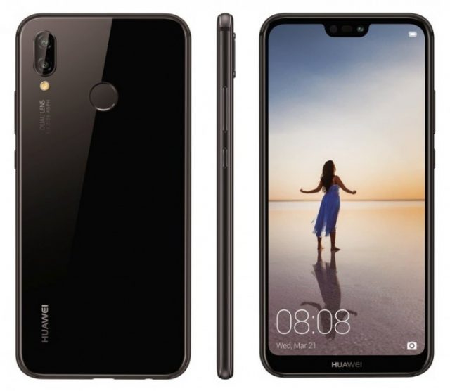 Работающий смартфон Huawei P20 Lite впервые показан в видеоролике