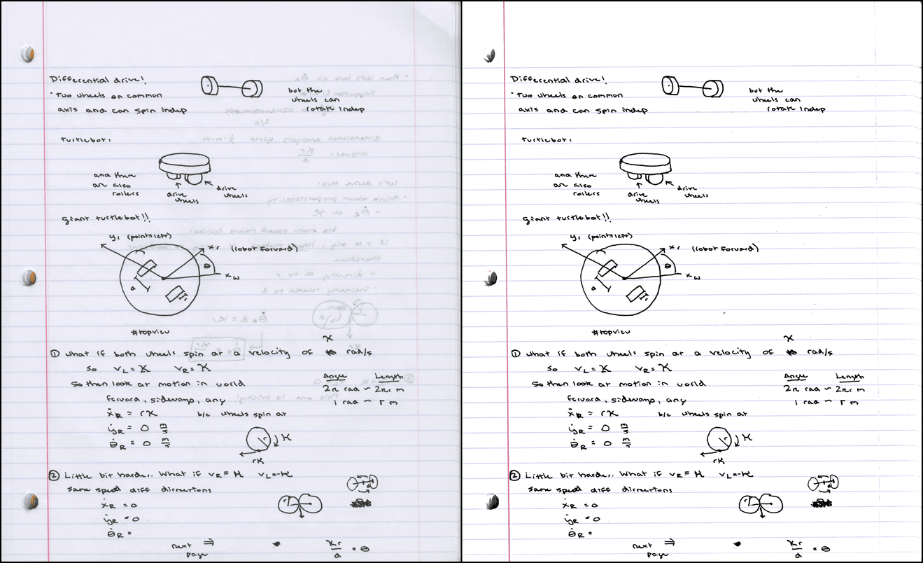 Cжатие и улучшение рукописных конспектов - 17
