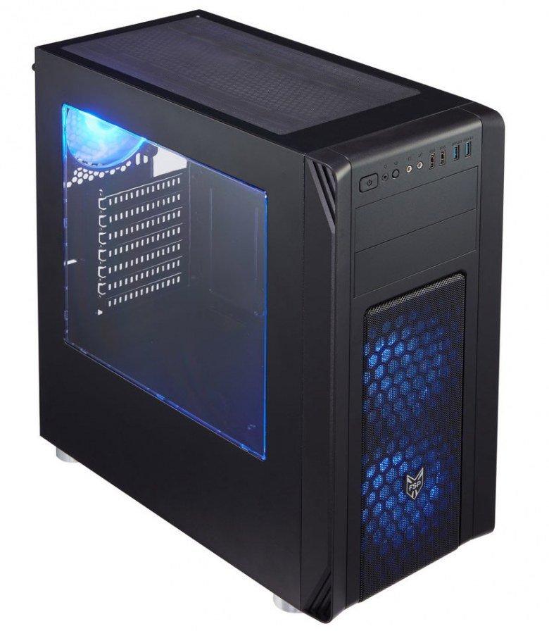 Недорогие корпуса FSP CMT230 и CMT240 позволяют установить до шести 140-миллиметровых вентиляторов - 1