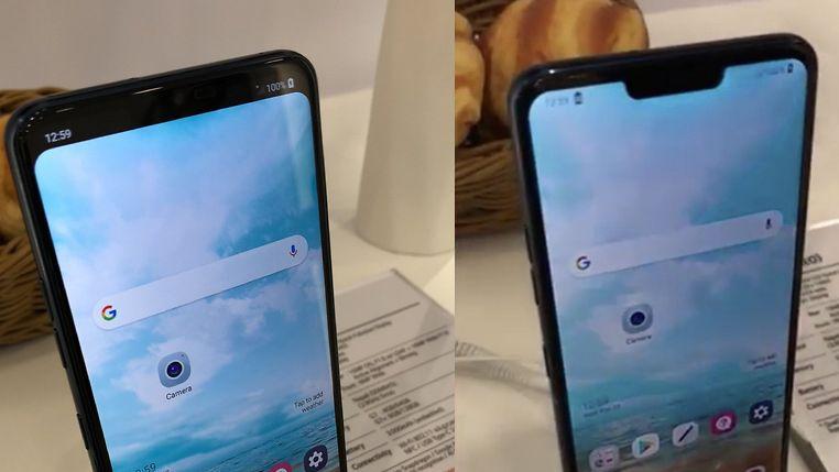 Пока все добавляют своим смартфонам вырез вверху экрана, LG придумала, как его скрыть - 1