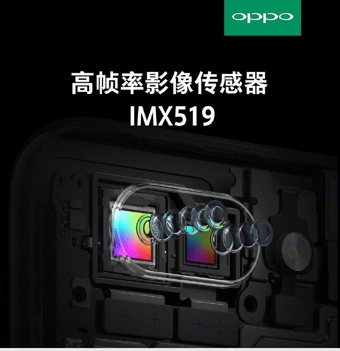 В основной камере смартфонов Oppo R15 и R15 Dream Mirror Edition будет использоваться новый датчик Sony IMX519 - 1