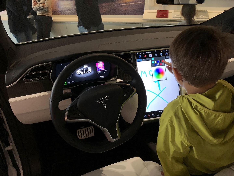 Знакомство с Tesla Model 3 - 17
