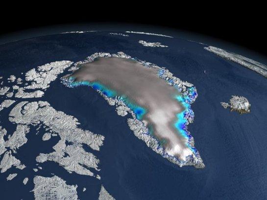 Уже к концу нынешнего века от Гренландского ледяного щита может ничего не остаться