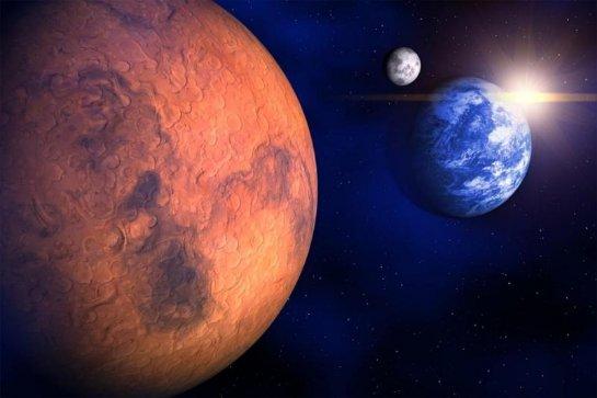 На Марсе есть драгоценные металлы