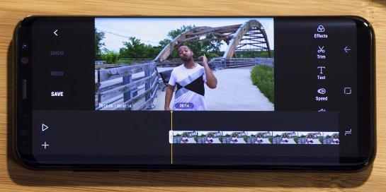 Samsung выпустит новый мобильный редактор фильмов