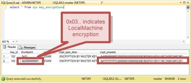Расшифровка сохранённых паролей в MS SQL Server - 2