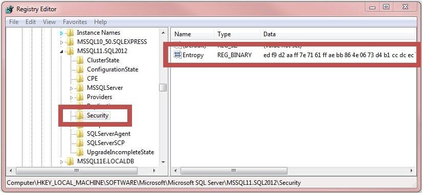 Расшифровка сохранённых паролей в MS SQL Server - 3