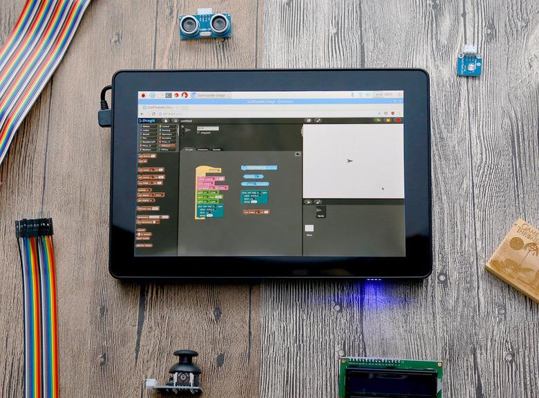 Планшет Raspad позиционируется как основа для всевозможных самоделок