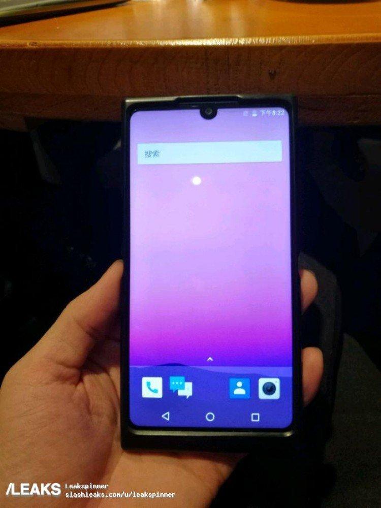 Смартфон ZTE Nubia Z19 получит вырез вверху экрана, но при этом вовсе не будет похож на iPhone X - 1