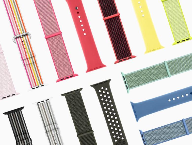 Apple отмечает приход весны выпуском новых ремешков для часов Watch - 1