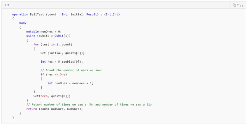 Квантовые вычисления и язык Q# для начинающих - 36
