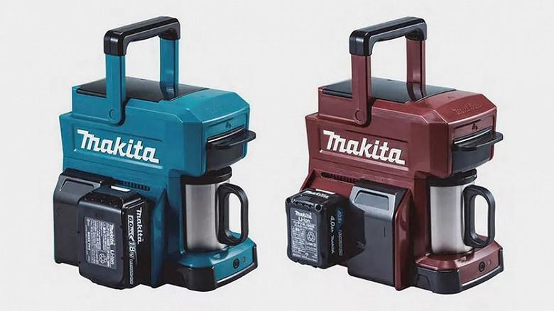 Портативная кофеварка Makita CM501D не боится воды и питается от аккумуляторов для электроинструментов - 2