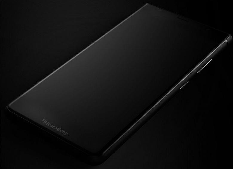 Появилось изображение смартфона BlackBerry Ghost Pro - 1
