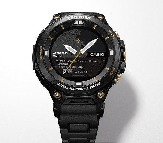 Представлены умные часы Casio WSD-F20SC