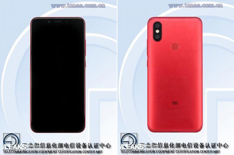 Смартфон Xiaomi Mi 6X, который в итоге может стать моделью Mi A2, получит шестидюймовый экран и тонкий корпус - 1