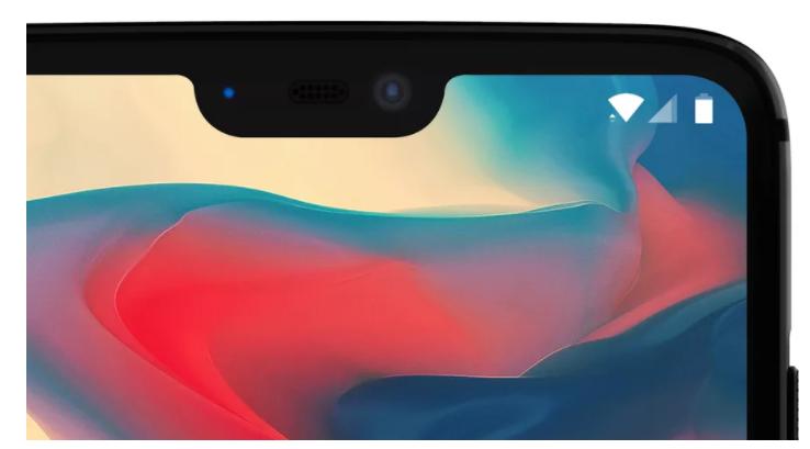Опубликовано первое официальное изображение смартфона OnePlus 6. Да, вырез вверху экрана будет - 1