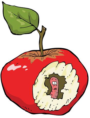 Баг в яблоке