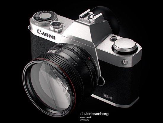 Компании Canon приписывают тестирование двух моделей полнокадровых беззеркальных камер