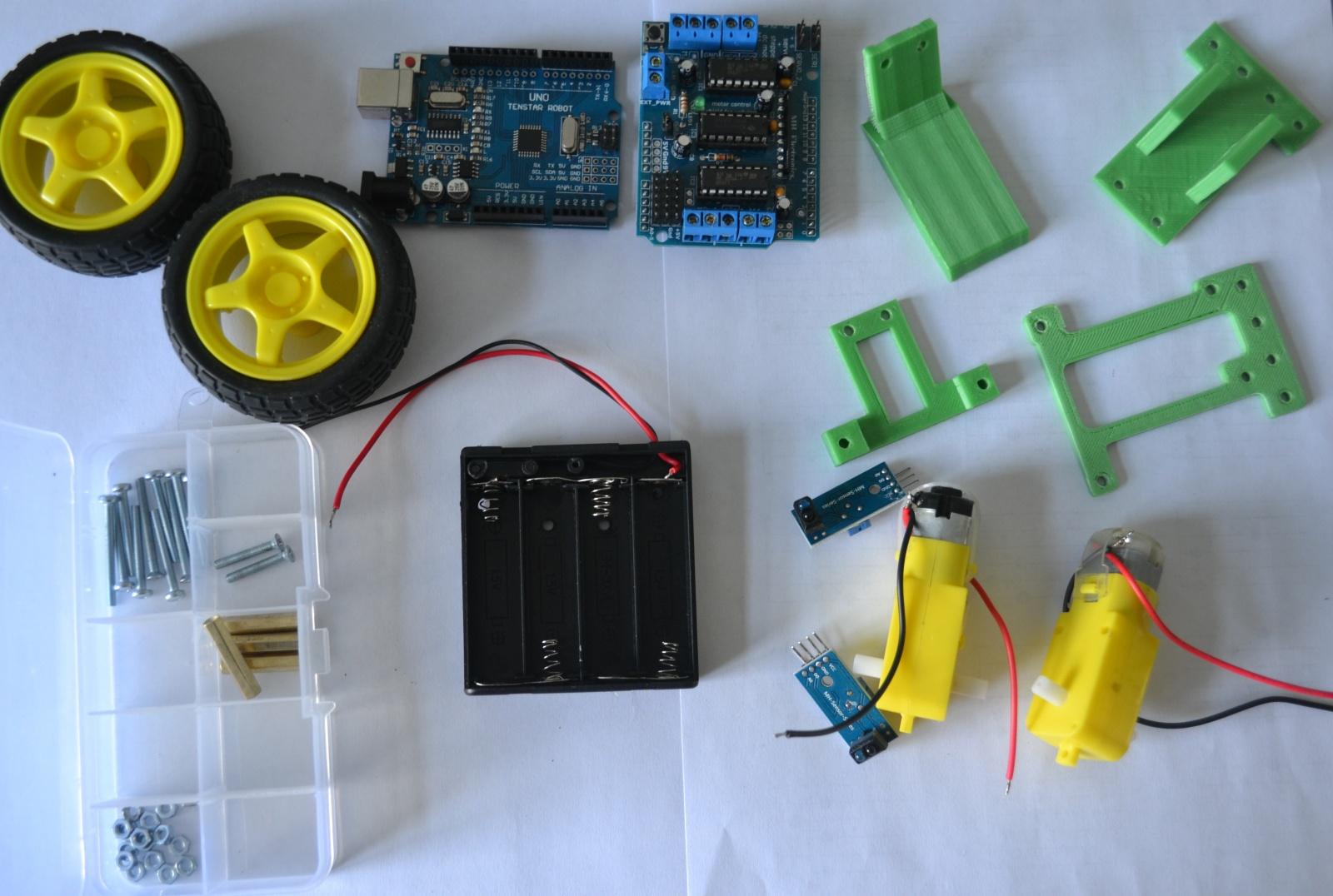 Робот для обучения детей программированию на Arduino - 2