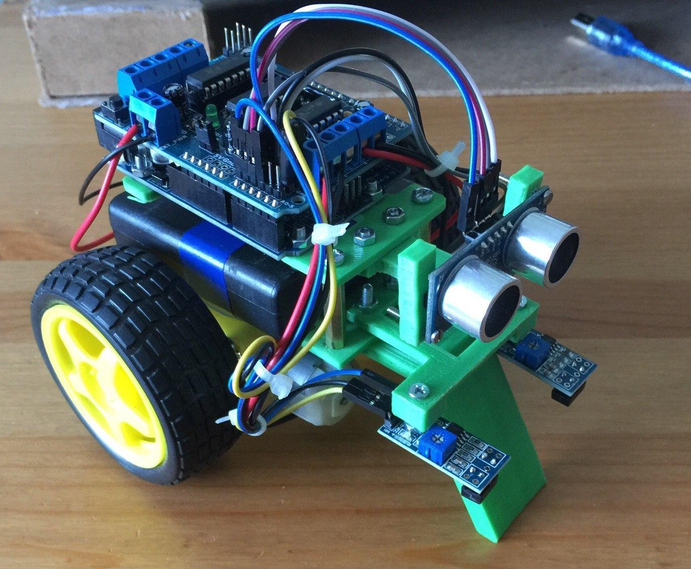 Робот для обучения детей программированию на Arduino - 1