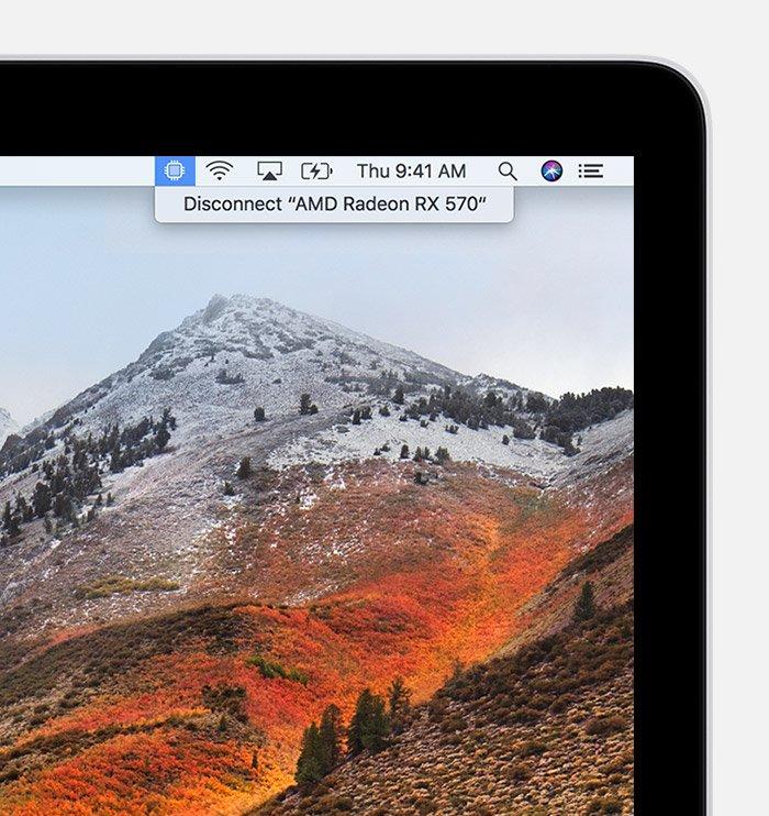 Обычные пользователи ПК Apple наконец-то получили возможность подключать к ним внешние видеокарты - 1
