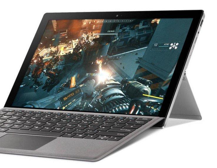 Планшет Voyo Vbook i5 оснащен экраном типа IPS размером 12,6 дюйма и разрешением 2880 x 1920 пикселей