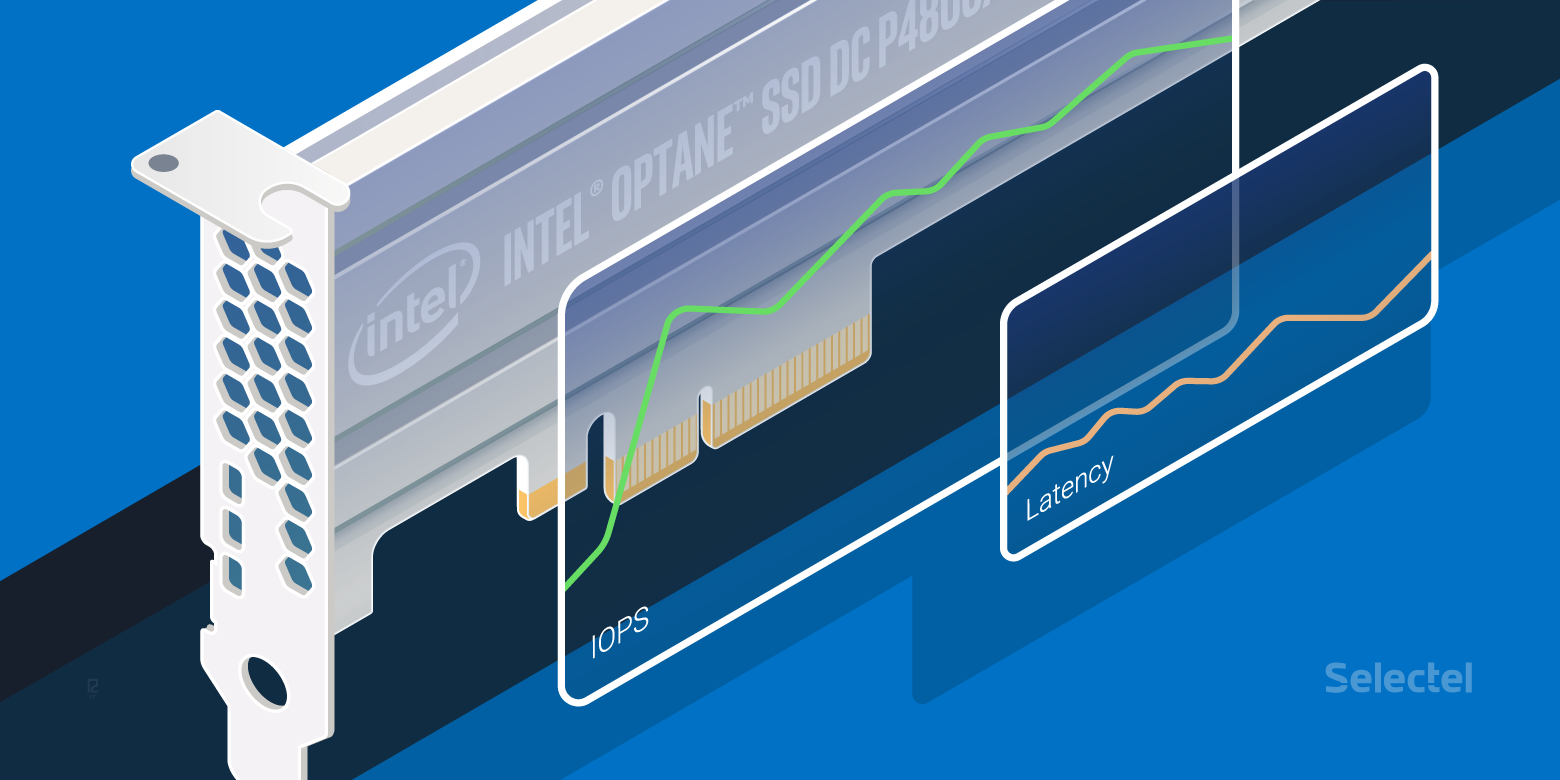 Анализ производительности накопителя Intel Optane SSD 750ГБ - 1