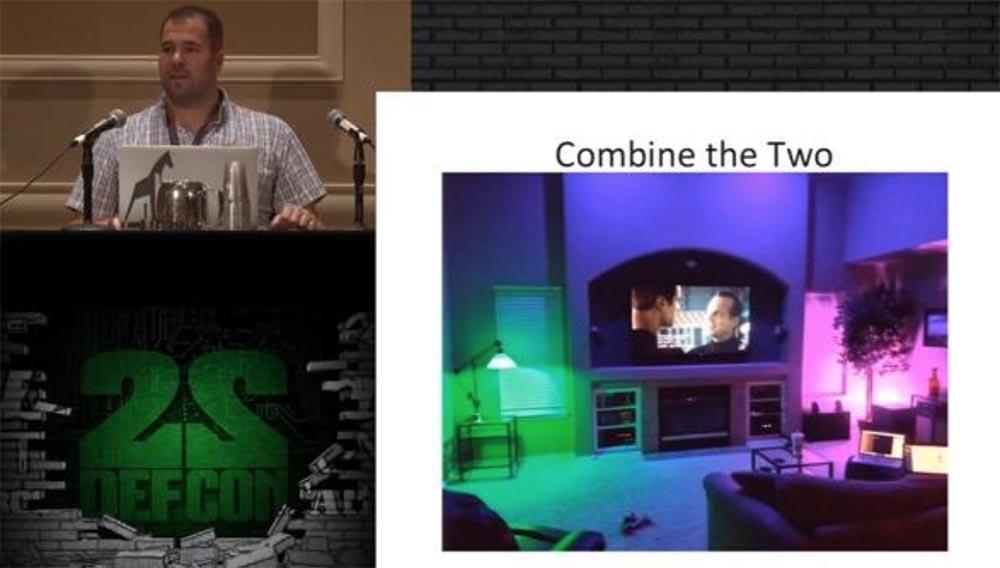 Конференция DEFCON 22. «Один дома с автоматической системой защиты». Крис Литтлбери - 13
